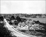 Portage Bay and the University of Washington, looking north from Fuhrman Ave. E., n.d.