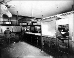 Bank or unidentified business interior, n.d.
