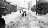 Fremont Ave. N. after a snowstorm, winter 1916