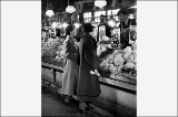 Two women at vegetable vendor, Pike Place Market, n.d.