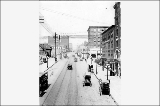 4th Ave., looking north from Yesler Way, 1911