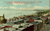 Elliott Bay and the waterfront from 2nd Ave. and Cherry St., 1911