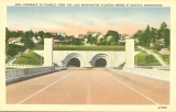 Entrance to tunnels on the west side of the Lake Washington Floating Bridge, n.d.