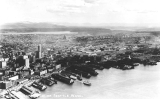 Aerial view of waterfront, n.d.