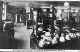 Millinery Department interior, Cheasty's Haberdashery, 2nd Ave., n.d.