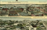 Elliott Bay and waterfront in 1888 and in ca. 1917
