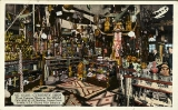 Ye Olde Curiosity Shop interior, 613 Railroad Ave., (now Alaskan Way) n.d.