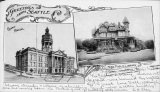 King County Court House and Free Public Library, 1901