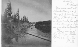 Montlake Ditch from Lake Washington to Portage Bay, February 22, 1902