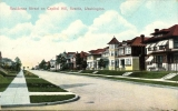 Residential street on Capitol Hill, n.d.