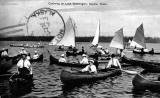 Canoeing and sailing on Lake Washington, n.d.