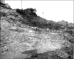 Jackson St. regrade, looking northeast from S. Jackson St. between 10th Ave. S. and 12th Ave. S.,...