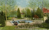 Leschi Park fountain and grounds, n.d.