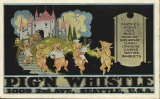 Pig 'n Whistle restaurant advertisement, 1009 2nd Ave., n.d.
