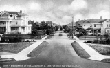 Residential street on Capitol Hill, ca. 1917