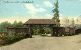 Cowen Park entrance, n.d.