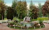 Madison Park fountain and grounds, n.d.