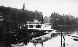 Ferry LESCHI being launched, Rainier Beach, Seattle, December 6, 1913