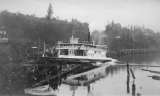 Launching of the ferry LESCHI, Rainier Beach, Seattle, December 6, 1913