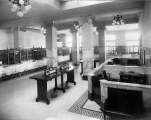Dexter Horton National Bank interior, 2nd Ave. and Cherry St., Seattle, ca. 1925