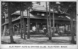 Alki Point Auto and Driving Club, West Seattle, n.d.