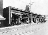 Businesses on Yesler Way including a Jewish Kosher grocery, 1919
