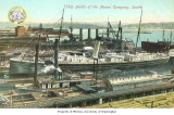 Moran Brothers Company shipyards along the waterfront, n.d.