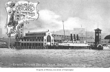 Ships docked at the Grand Trunk Pacific Dock, foot of Marion St., ca. 1911