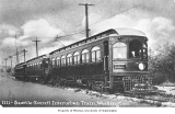 Electric interurban train between Seattle and Everett, n.d.