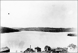 Fremont and Lake Union looking west from Capitol Hill, ca. 1893
