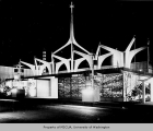 Christian Witness Pavilion exterior, Century 21 Exposition, 1962