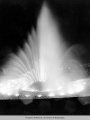 International Fountain at night, Century 21 Exposition, 1962