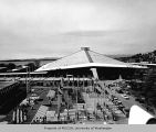 Plaza of the States and Washington State Coliseum, Century 21 Exposition, 1962