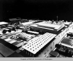 Century 21 Exposition, architectural model, ca. 1962