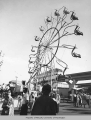 Giant Wheel, an amusement ride at the Century 21 Exposition, 1962