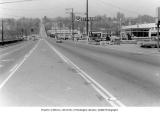 N.E. 45th St., looking west from Sand Point Way, ca. 1965