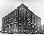 Building at Virgina St. and 8th Ave., ca. 1945