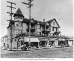 Apartments and businesses, 12th Ave. E. and E. Pike St., ca. 1912