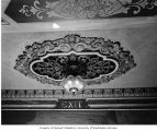 Fox Theatre, detail of ceiling light at exit, 1991