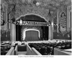 Fox Theatre auditorium with view of stage, seating, and galleons, 1991