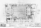 Architectural drawing of the Fox Theatre showing the first floor plan, n.d.