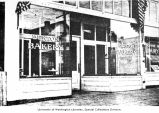 Benton Bakery storefront at 5514 University Way N.E., 1915