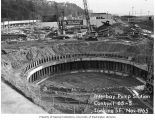 Interbay Pumping Station construction, Metro Sewage Disposal Project, November 1965