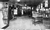 Section of coat and suit department, Cheasty's Haberdashery