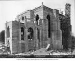 St. Mark's Episcopal Cathedral under construction, Seattle, Washington, July 10, 1930