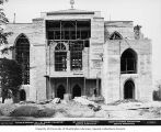 St. Mark's Episcopal Cathedral under construction showing ladders and scaffolding, Seattle,...
