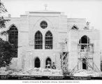 St. Mark's Episcopal Cathedral under construction, east view, Seattle, Washington, July 24,1930