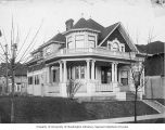 Residence at 1422 Roy Street in Capitol Hill neighborhood, Seattle,  ca. 1909
