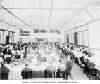 Mount Baker Improvement Club members at banquet, Seattle, 1910