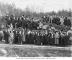 Mount Baker Improvement Club members posed for group photograph, Seattle, January 1, 1912
